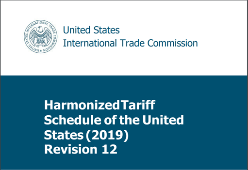 Harmonized Tariff Schedule 2019